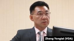 台灣最大在野黨國民黨主席江啟臣(資料照片)