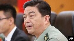 차오강촨 중국 국방부장 (자료사진)