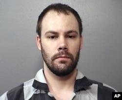當地警方提供的涉嫌綁架章瑩穎的布倫特克里斯滕森的照片