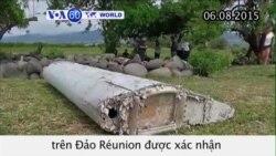 Xác nhận tìm thấy mảnh vỡ máy bay MH370 (VOA60)