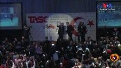 مظاہرین پر ترک صدر کی سکیورٹی اہلکاروں کا تشدد