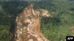 Đất chuồi xảy ra vào lúc sáng sớm hôm qua tại Cao nguyên Nam phần của Papua New Guinea, một khu vực hẻo lánh với nhiều làng xã nhỏ