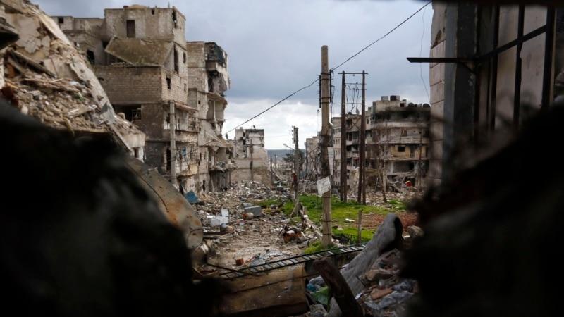 Blast, Clashes Leave 34 Dead in Aleppo