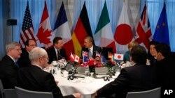 Lideri G7 na sastanku u Hagu