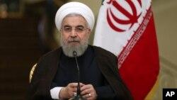 Madaxweynaha Iran Hassan Rouhani