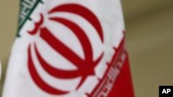 Iran's flag.