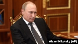 Vladimir Putin, Predsjednik Rusije