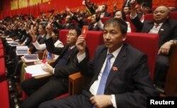 Đại hội 12, kéo dài hơn một tuần, đã chính thức bế mạc ở Hà Nội hôm nay, với việc bầu ra tổng bí thư và 19 thành viên đầy quyền lực của Bộ Chính trị.