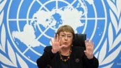 ေဒသလံုၿခံဳေရး ထိခိုက္ေစမယ့္ ျမန္မာျပည္တြင္းစစ္ ျဖစ္လာႏိုင္ (လူ႔အခြင့္အေရး မဟာမင္းႀကီး Michelle Bachelet)
