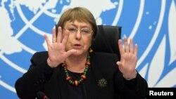 Komisioner Tinggi PBB untuk urusan HAM, Michelle Bachelet