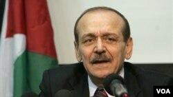 Yasser Abed Rabbo, Sekjen PLO dan pembantu Presiden Mahmud Abbas.