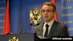 Ministar unutrašnjih poslova Crne Gore Goran Danilović (gov.me)