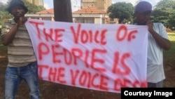 Zanu PF Harare Demos
