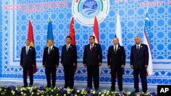 Лидеры государств-членов Шанхайской организации сотрудничества