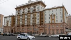Ambasade y'Amerika i Moscou m'Uburusiya