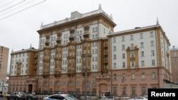 په مسکو کې د امریکا کې د سفارت ودانۍ
