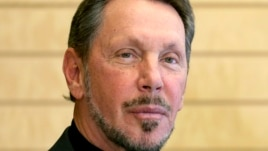 FILE - Larry Ellison, co-founder and Chief Executive Officer of Oracle Corp., waits to meet with Japanese Prime Minister Shinzo Abe at the prime minister's official residence in Tokyo, Apr. 8, 2014.