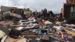 2017-01-23 美國之音視頻新聞: 美國南部龍捲風襲擊造成18人死亡