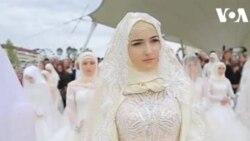 ԱՌԱՆՑ ՄԵԿՆԱԲԱՆՈՒԹՅԱՆ. Չեչնիայում 200 զույգերի ամուսնական արարողություն է իրականացվել