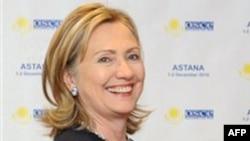 Клинтон проводит переговоры в Бишкеке