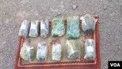 مواد مخدر نوع تریاک که به منظور انتقال به کشور ایران در موتر جاسازی شده بود