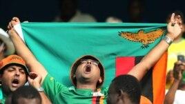 Un supporter zambien