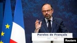 Le Premier ministre français Edouard Philippe à Paris, France, le 8 avril 2019. REUTERS / Charles Platia