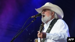 FILE - Charlie Daniels performs during Kicker Country Stampede - Day 2 at Tuttle Creek State Park on June 22, 2018 in Manhattan, Kansas.