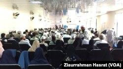 گردهمایی علمای دین به حمایت از تعلیم و تحصیل دختران در ننگرهار