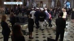 Anayasa Mahkemesi Yargıcı Ginsburg İçin Kongre'de Tören