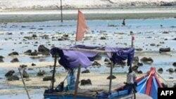 Tàu của ngư dân Việt ở đảo Lý Sơn, Quảng Ngãi