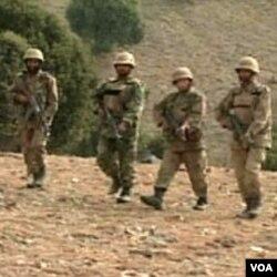 Pakistanski vojnici u operaciji čišćenja terena od militanata uz granicu sa Afganistanom