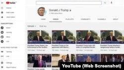 YouTube suspends Trump channel, removes video due to 'potential for violence'
