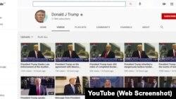 صدر ٹرمپ یوٹیوب پر اپنے چینل پر سات دن تک نیا مواد اپ لوڈ نہیں کرسکیں گے۔