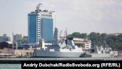 Есмінець Великої Британії Duncan та канадський фрегат Toronto пришвартовані у порту Одеса