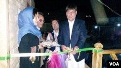 افتتاح اولین چایخانۀ زنانه در ولایت بامیان