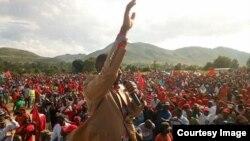 UMnu. Nelson Chamisa usekhethwe ukuba abambe isikhundla sikaTsvangirai