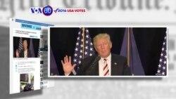 Manchetes Americanas 18 Agosto: Trump não confia nos serviços secretos americanos