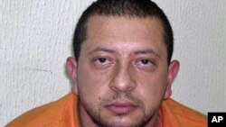 Pictured above, according to Israeli security officials, is Bassam Omri, one of the main suspects involved in the plot, 4 Jan 2011