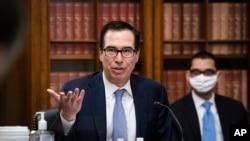 Міністр фінансів США Стівен Мнучін (архівне фото)