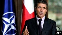 Расмуссен: НАТО поддерживает территориальную целостность Грузии