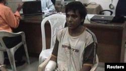 Mohammed Ajmal Kasab, satu-satunya yang hidup dari sekelompok militan pelaku serangan Mumbai 2008 (Foto: dok). Kasab telah dihukum gantung di penjara Pune, dekat Mumbai (21/11).