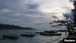 Suasana di pantai Gili Air, Lombok (Foto: Dok/ Reuters/Deurbon Chow).