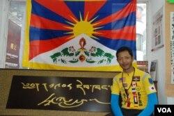 仁波雅克最近在香港與市民見面,分享「為西藏騎行」的經歷