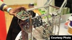 L'imprimante 3D inventée au Woelab à Lomé, au Togo.