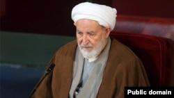 Ayatollah Yazdi, Chief of Iran's Khobregan Majlis محمد یزدی رئیس مجلس خبرگان