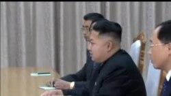朝鲜领导人金正恩会见中国代表团