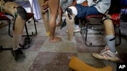 AFIRM atau Armed Forces Institute for Rehabilitation Medicine di Rawalpindi, membantu tentara-tentara veteran yang kehilangan lengan atau kaki (foto: dok).