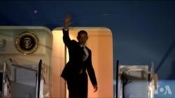 奥巴马总统前往希腊德国秘鲁访问