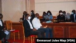 L'audience du Conseil constitutionnel sur le dépassement des mandats de certains responsables d'entreprises d'Etat suite au recours du Front des démocrates Camerounais à Yaoundé, le 7 septembre 2021.